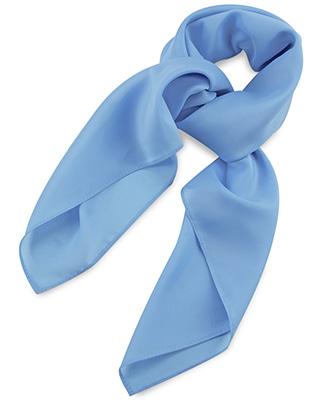 Scarf light blue