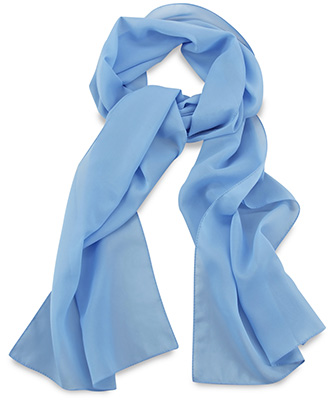 Scarf uni light blue