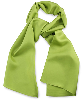 Scarf lime green uni