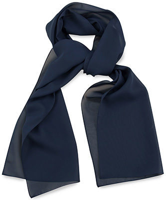 Scarf uni navy blue