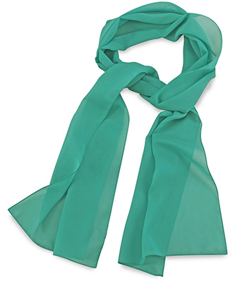 Scarf uni mint green