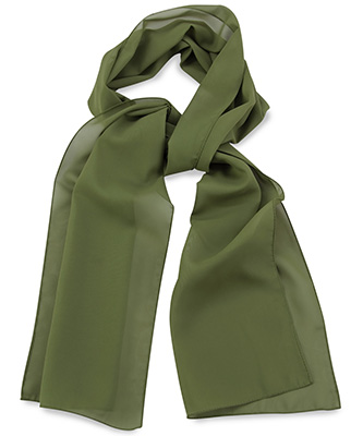 Scarf uni army green