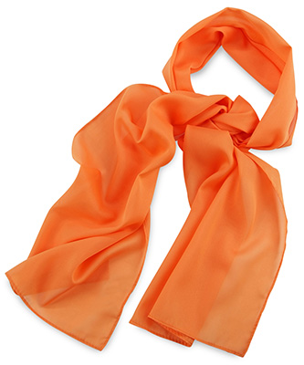 Scarf uni orange