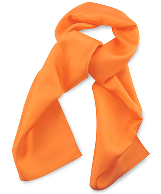 Scarf orange uni