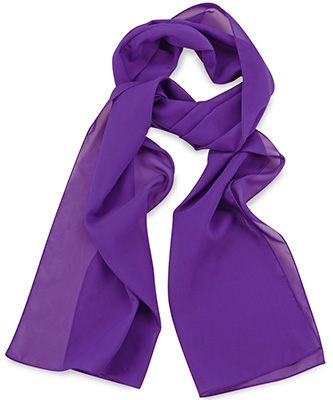 Scarf uni purple