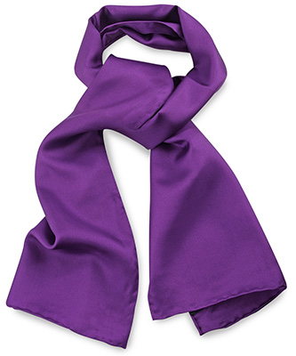 Scarf purple uni