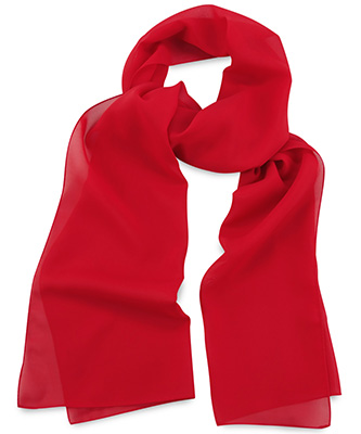 Scarf uni red