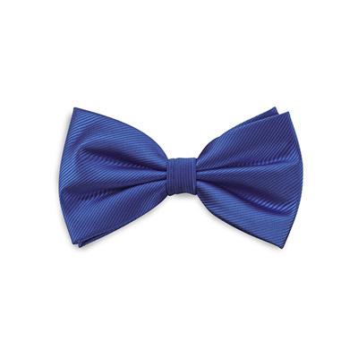 Bow tie royal blue repp