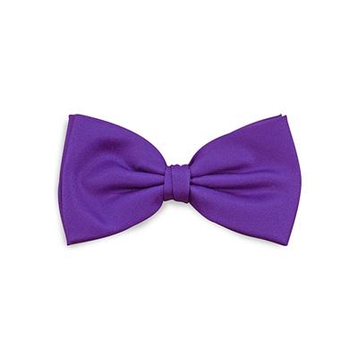 Bow tie purple