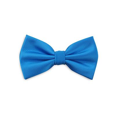 Bow tie process blue repp