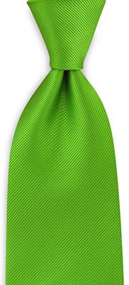 Necktie repp apple green