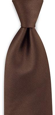 Necktie repp brown
