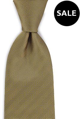 Necktie yellow