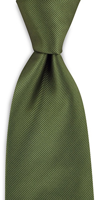 Necktie army green
