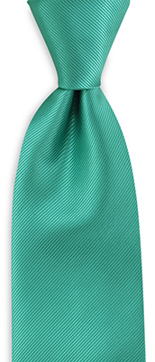 Necktie mint green repp