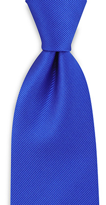 Necktie repp royal blue