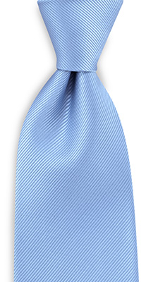 Necktie repp light blue