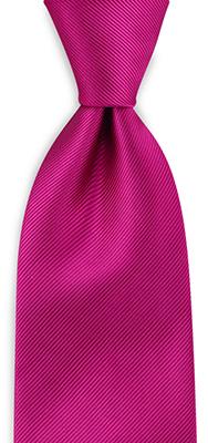 Necktie repp magenta