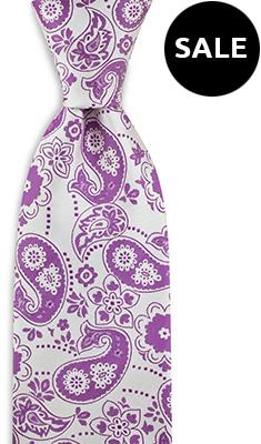 Necktie Paisley Power