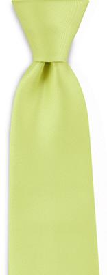 Necktie lime green