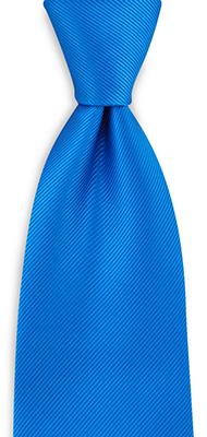 Necktie repp process blue