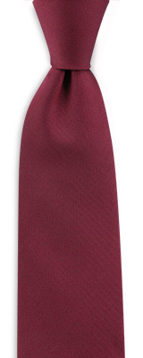 Necktie bordeaux red narrow