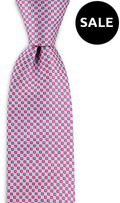 Necktie Square Dots