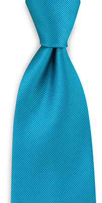 Necktie repp turkoois