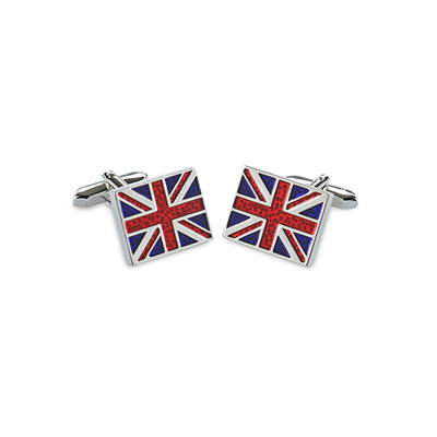 Cuff links Union Jack