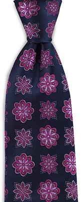 Necktie Autumn Flower