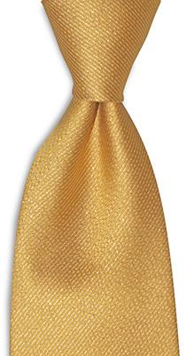 Necktie gold